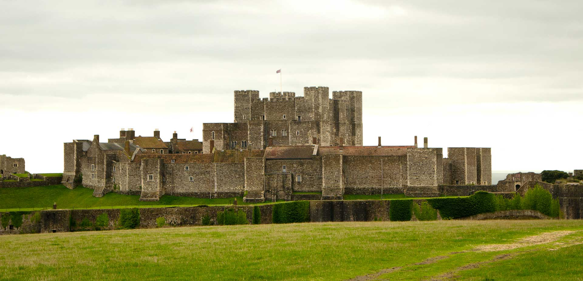 Exterior of Dover Castle