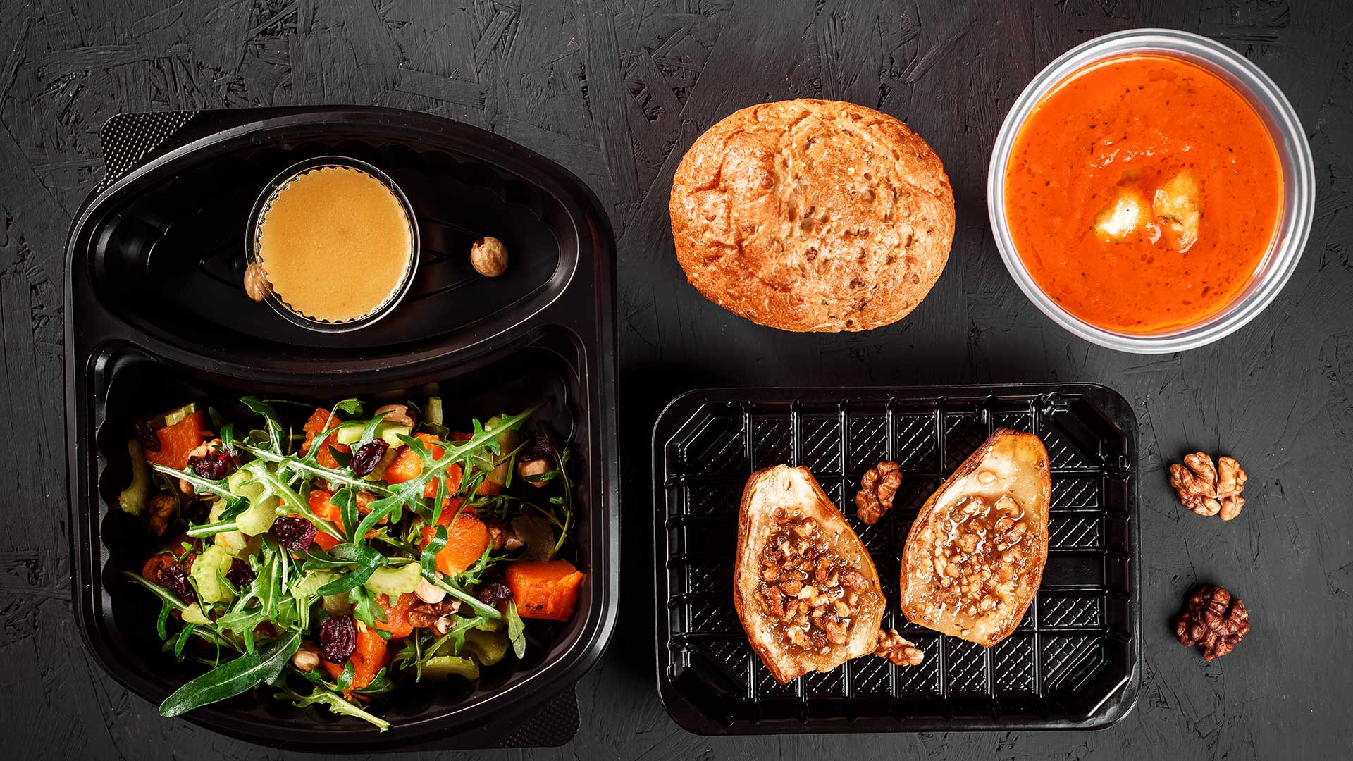 Healthy meal box